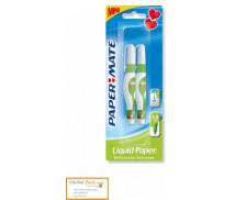 Lot de 2 mini stylos correcteurs - PAPERMATE - 3.5 ml