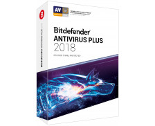 Logiciel Anti Virus 2018 - BITDEFENDER - Antivirus - 1 poste - 1 an