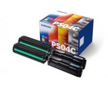 Toner Laser CLT504P - Samsung - (1 Noir + 1 Cyan + 1 Magenta + 1 Jaune)