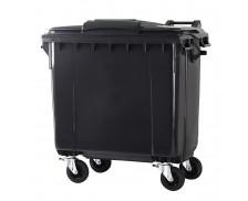 Poubelle conteneur 4 roues - CEP - 770 litres - Gris