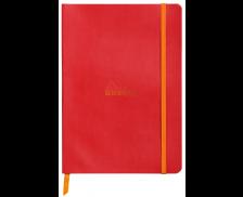 Carnet A5 - RHODIA - 160 pages - Ligne - Coquelicot