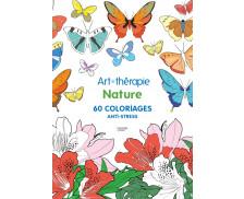 Cahier anti-stress Nature - HACHETTE - 60 coloriages