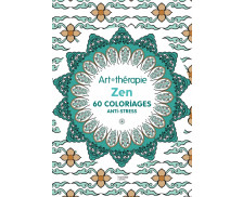 Cahier anti-stress Zn - 60 coloriages - HACHETTE