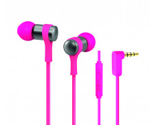 Écouteurs intra-auriculaires - APM - Microphone integré - Rose