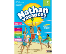 Cahier de vacances - NATHAN - 5ème et 4 ème