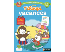 Cahier de vacances T'choupi - NATHAN - Petite section