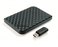 """Disque Dur Externe 2.5"""" + clé USB 16 Go offerte - 1.5 To - USB 3.0 - Noir"""