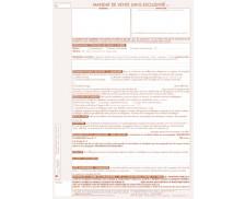 Lot de 25 mandats simple de vente - TISSOT - Professions immobilières