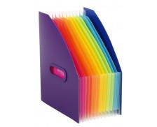 Trieur extensible Corner Box - VIQUEL - Happy Fluo - 12 positions