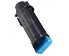 Toner laser 593BBSD - Dell - Cyan - Grande Capacite
