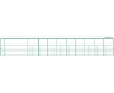 Registre - EXACOMPTA - Registre 9 colonnes - 6092E