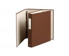 Classeur Forever 4 anneaux- EXACOMPTA - Dos 40 mm - Chocolat