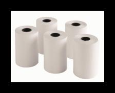 Lot de 5 bobines thermiques - TOP OFFICE - 57x40x12 mm