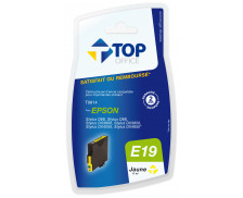 Cartouche d'encre compatible EPSON T0614 - Jaune