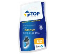Cartouche d'encre compatible BROTHER LC900 - Cyan