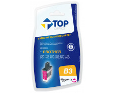 Cartouche d'encre compatible BROTHER LC900 - Magenta