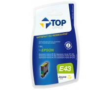 Cartouche d'encre compatible EPSON T18 XL - Jaune