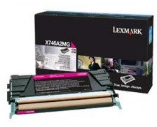 Toner laser X746A3MG - Lexmark - Magenta
