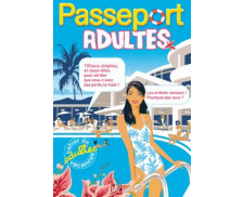 Cahier de vacances Passeport adultes - HACHETTE