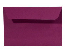 20 Enveloppes 114x162 POLLEN - cassis 120g adhéclair