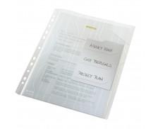 Lot de 3 pochettes à onglets CombiFile A4 - LEITZ  - Transparent