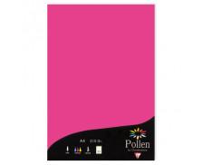 25 Feuilles papier A4 POLLEN - rose fuchsia 210g
