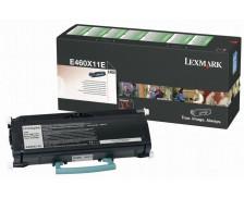 Toner laser E460X11E - Lexmark - Noir