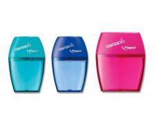 Taille-crayon Shaker - MAPED - 2 trous - Avec réservoir