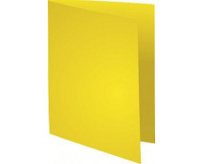 "Lot de 10 chemises Rock""s 220 24 x 32 cm - EXACOMPTA - Jaune"