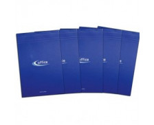 Lot de 5 blocs de feuilles A5 - OFFICE - Petits carreaux