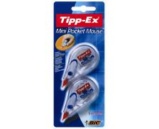 Lot de 2 mini rollers de correction - TIPP-EX - 5 m