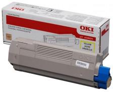Toner laser 45396301 - Oki - Jaune