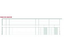 Piqûre comptable à tête paresseuse - 17070E - EXACOMPTA - 29,7 x 21 cm