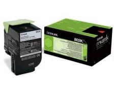 Toner laser 80C20K0 - Lexmark - Noir