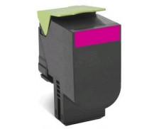 Cartouche d'encre 80C2HME - Lexmark - Magenta
