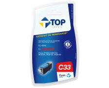 Cartouche d'encre compatible CANON CLI526C - Cyan