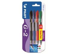 Lot de 3 stylos + 1 gratuit G2 - PILOT - Retractable