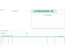 carnet de livraison dupli - 13162E - EXACOMPTA - 21 x 29,7 cm