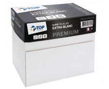 Caisse de 5 ramettes papier de 500 feuilles - TOP OFFICE Premium - A4 - 80 g