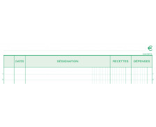 Manifold - EXACOMPTA - CARNET RECETTE-DEPENSE - 13500E