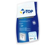 Cartouche d'encre compatible HP : 940 XL - TOP OFFICE - Cyan