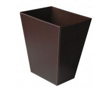 Corbeille à papier PVC - HENRY PIERRE - Marron