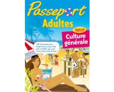 Cahier de vacances- Passeport culture générale - Adultes