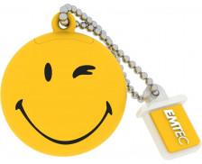 Clé USB - 8 Go - EMTEC - Smiley Jaune