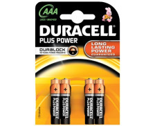4 Piles LR03 Plus power DURACELL