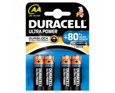 4 Piles LR06 Ultra Power - DURACELL