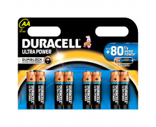 8 Piles LR06 Ultra Power - DURACELL