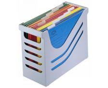 Office Box & dossiers - ATLANTA - Gris clair