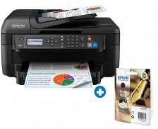 Ensemble imprimante multifonction WF 2750 DWF + 1 cartouche noire T16XL - EPSON