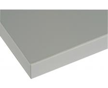 Top de finition pour armoire - L120 cm - Gris